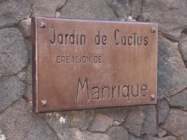 Jardín de Cactus. Lanzarote