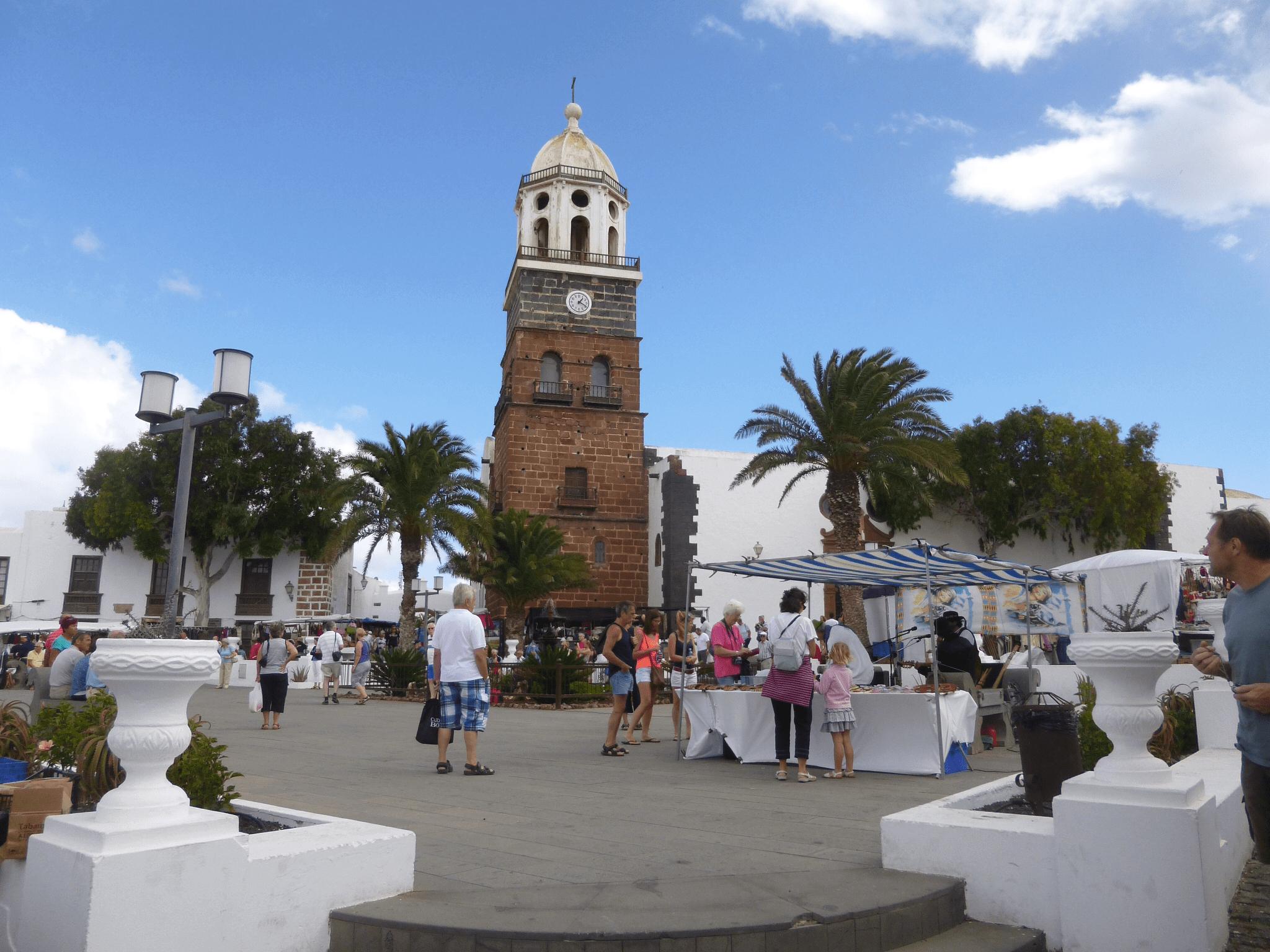 La Villa de Teguise. Lanzarote