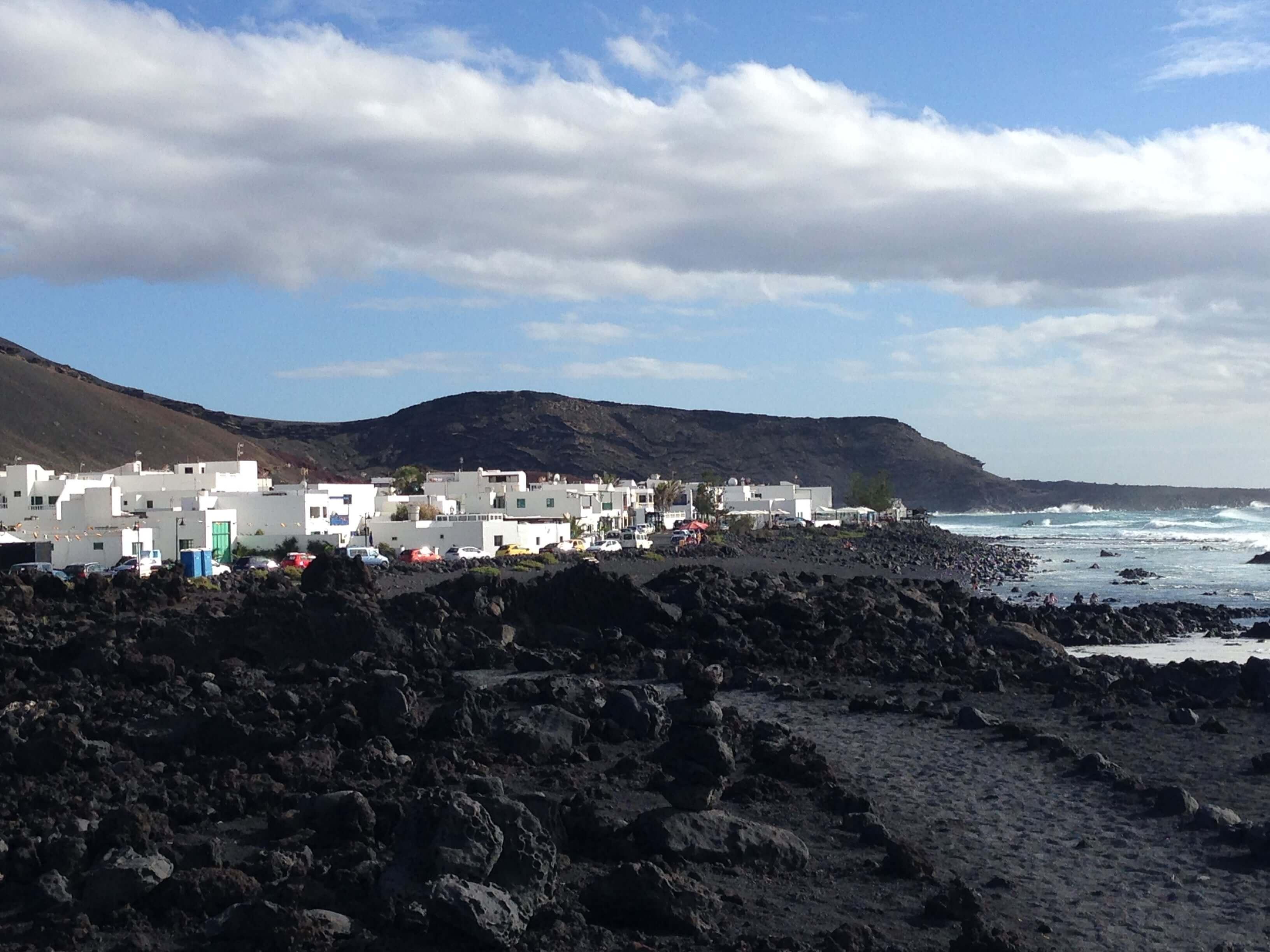 Los Hervideros. Lanzarote